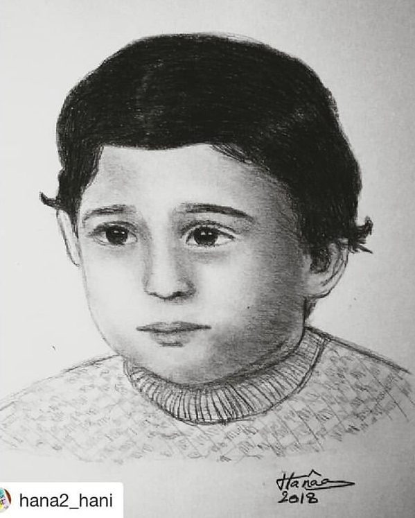 صورة الفنان أكرم حسني بطفولته تصبح شعارا لمنتج إيبو بالشيكولاته