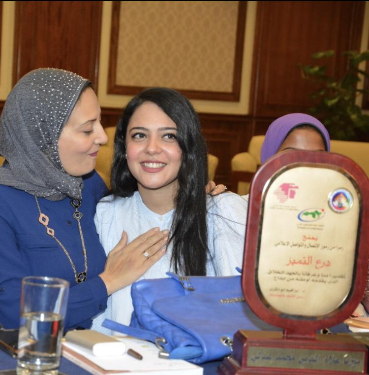 تكريم الاذاعي شريف عبد الوهاب الأمين العام لشعبة للإذاعيين العرب