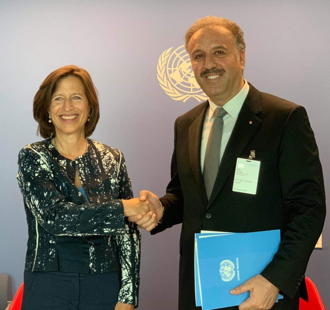 الإعلام الفلسطيني يواصل إنتصاراته الإعلامية بإتفاقية مع الأمم المتحدة