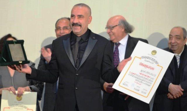 محمد سعد افضل ممثل في مهرجان جمعيه الفيلم السنوي
