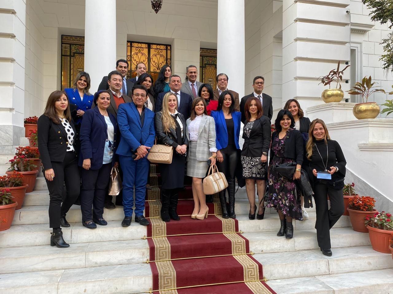 اجتماع وزير الإعلام بعدد من مذيعي ماسبيرو