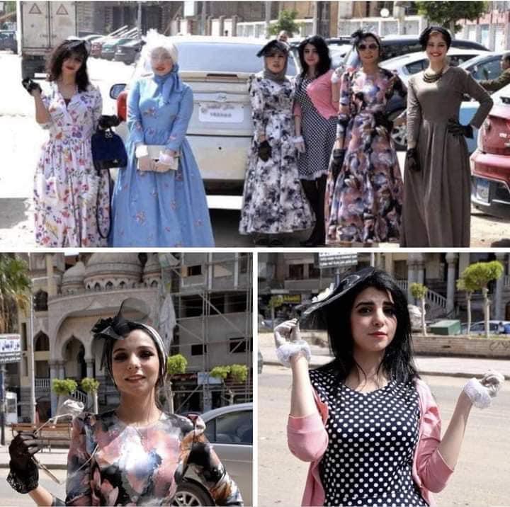 مبادرة مهمة نتبناها من فتيات الدقهلية بعودة الفتاة المصرية بالفستان ،،