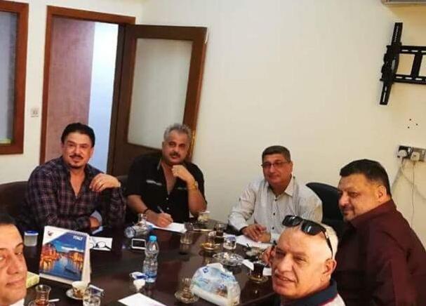 تكليف بهاء العلكاوي بحضور الجمعية العمومية لجمعية المنتجين العراقيين